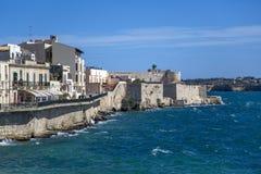 Syrakus, Italien lizenzfreie stockfotos