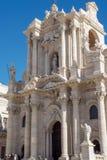 Syrakus-Kathedrale Lizenzfreies Stockfoto