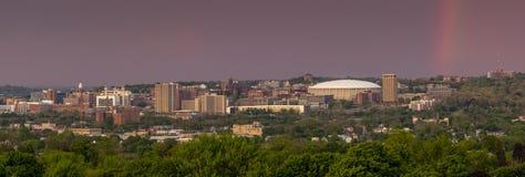 Syrakus New York im Stadtzentrum gelegen Lizenzfreies Stockfoto
