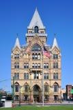 Syrakus-Sparkasse, New York, USA lizenzfreies stockfoto