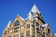Syrakus-Sparkasse, Syrakus, New York Stockfotografie