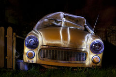 SYRENA Old car Royalty Free Stock Photos
