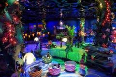 Syrenki laguny wnętrze przy Tokio Disney morzem Zdjęcie Royalty Free