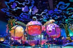 Syrenki laguny wnętrze przy Tokio Disney morzem Zdjęcia Royalty Free