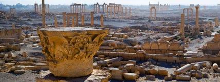 Syrië Palmyra Stock Foto's