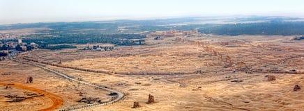 Syrië - Palmyra (Tadmor) Stock Fotografie