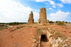 Syrië - Tartus oude plaats Amrit Stock Afbeelding