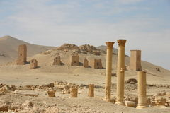 Syria. Ruins of palmyra Royalty Free Stock Photos