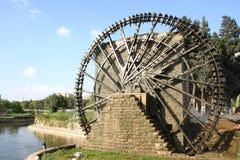 Syria. Hama water-wheel Stock Photography
