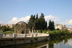 Syria. Hama water-wheel Royalty Free Stock Image