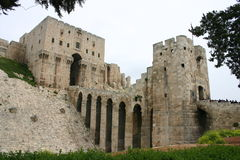 Syria. Aleppo Castle Royalty Free Stock Image