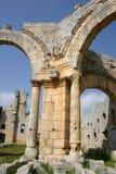 Syria. Ruins of Simonis Abbey Royalty Free Stock Photos