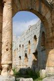 Syria. Simonis Abbey Stock Images