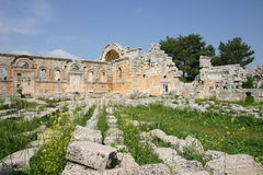 Syria. Ruins of Simonis Abbey Royalty Free Stock Images
