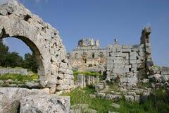 Syria. Ruins of Simeon Abbey Royalty Free Stock Photos