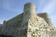 Syria. Krak des Chevaliers Royalty Free Stock Photography
