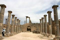 Syria. Ruins of Bosra Stock Photos