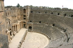 Syria. Bosra Theatre Royalty Free Stock Image