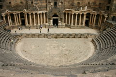Syria. Bosra Theatre Royalty Free Stock Photography
