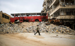 Syria : Al-Qaeda in Aleppo Royalty Free Stock Photography