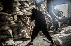 Syria : Al-Qaeda in Aleppo Stock Image