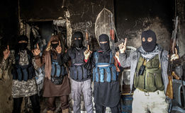 Syria : Al-Qaeda in Aleppo Stock Photography