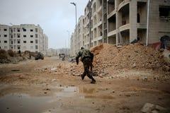 SYRIA-AL QAEDA-FIGHTERS Fotografia Stock