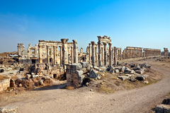 Syria - Apamea Royalty Free Stock Photo