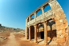 Syria - as cidades inoperantes Foto de Stock Royalty Free