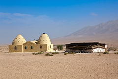 Syria - Beehive houses Stock Images