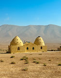 Syria - Beehive houses Royalty Free Stock Photo