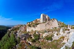 Syria - castelo de Saladin (ruído do anúncio de Qala'at Salah) Imagem de Stock