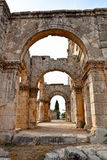Syria - Church Of St. Simeon - Qal A Sim An Stock Photo
