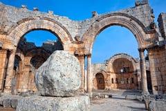 Syria - Church of St. Simeon - Qal'a Sim'an Royalty Free Stock Images