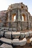 Syria - Church of St. Simeon - Qal'a Sim'an Stock Photo