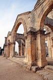 Syria - Church of St. Simeon - Qal'a Sim'an Stock Photos