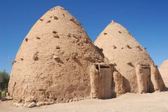 Syria - clay house Stock Photography