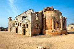 Syria - The Dead Cities, Qalb Lozeh Royalty Free Stock Images