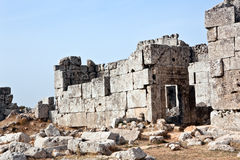 Syria - The Dead Cities, Qalb Lozeh Stock Images