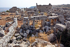 Syria - The Dead Cities, Qalb Lozeh Stock Images