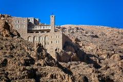 Syria - Deir Mar Musa al-Habashi Nebek. Monastery of Deir Mar Musa al-Habashi Nebek, Syria. Place of multi religion dialogue Royalty Free Stock Photos