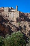 Syria - Deir Mar Musa al-Habashi Nebek royalty free stock images