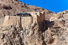 Syria - Deir Mar Musa al-Habashi Nebek. Monastery of Deir Mar Musa al-Habashi Nebek, Syria. Place of multi religion dialogue Royalty Free Stock Photo