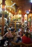 SYRIA. Ein traditionelles Cafe im Souq und Altstadt von Damaskus in der Hauptstadt von Syrien Stock Images