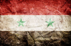 Syria flag Royalty Free Stock Image