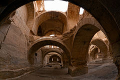Syria - Halabia, cidade de Zenobia Foto de Stock
