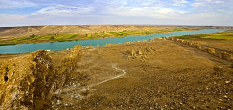 Syria - Halabia, Town of Zenobia Royalty Free Stock Photos