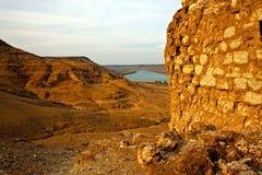 Syria - Halabia, Town of Zenobia Stock Photo