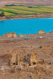 Syria - Halabia, Town of Zenobia Stock Images