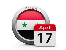 Syria Independence Day Royalty Free Stock Photos